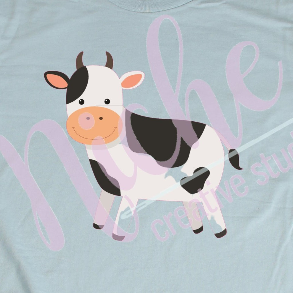 * Cow Decal
