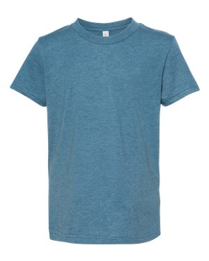 Bella Youth T-shirt - HEATHER DEEP TEAL