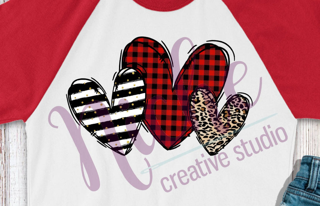 *Hearts Decal