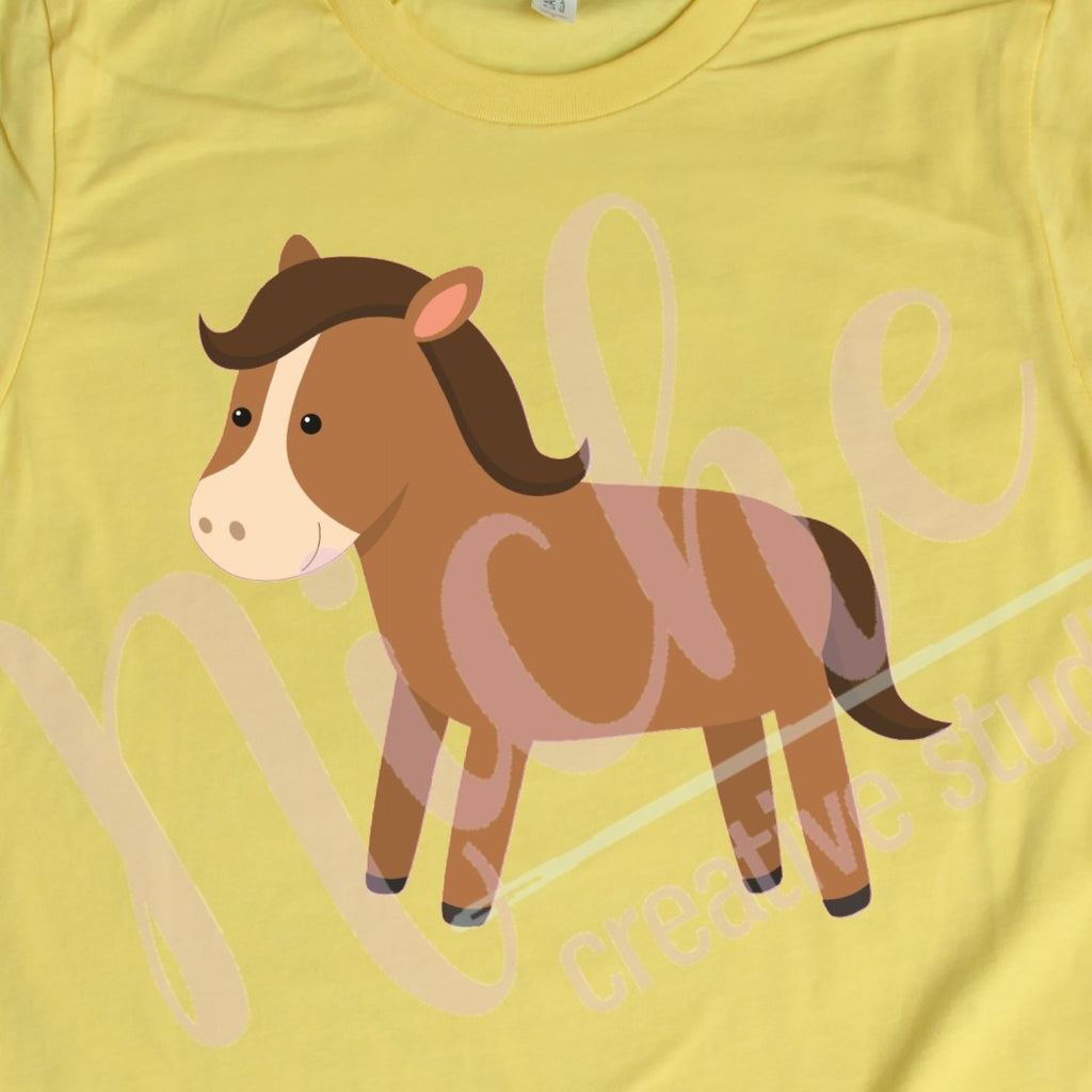 * Horse Decal