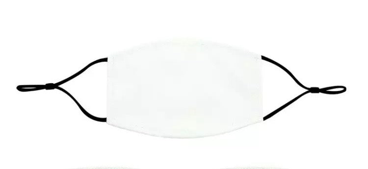 Sublimation Blank Mask