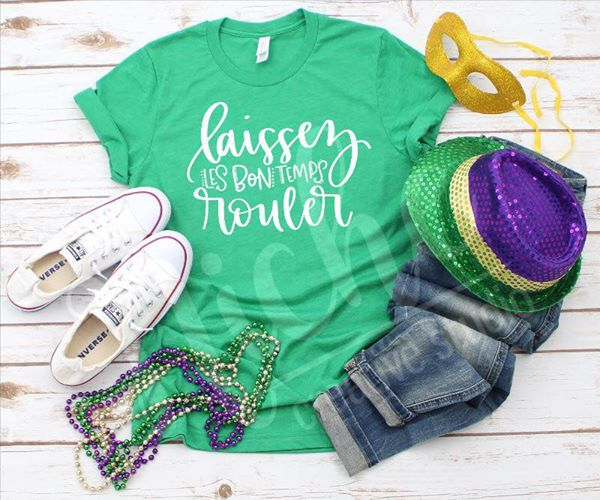 **January Monthly Shirt - Laissez Les Bon Temp Rouler
