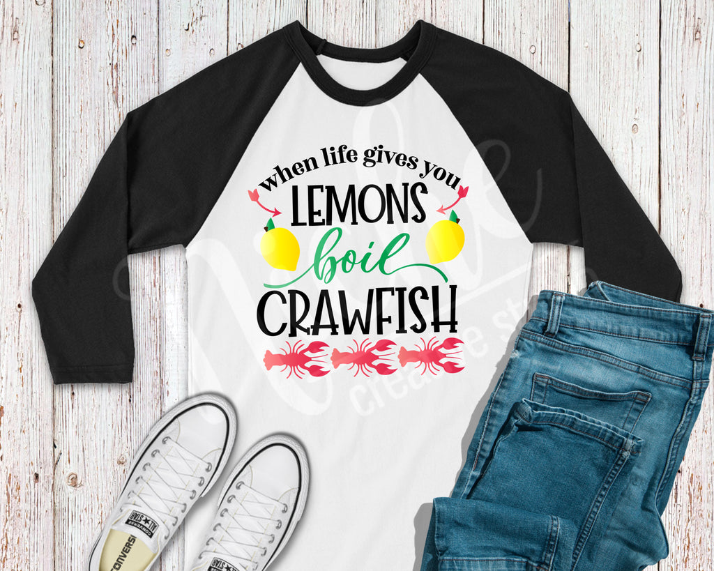 *Lemons Crawfish Screen Decal