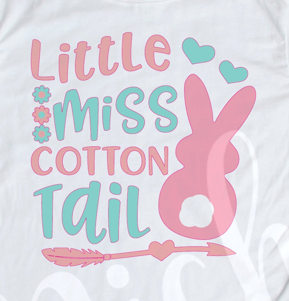 *Little Miss Cotton Tail Decal