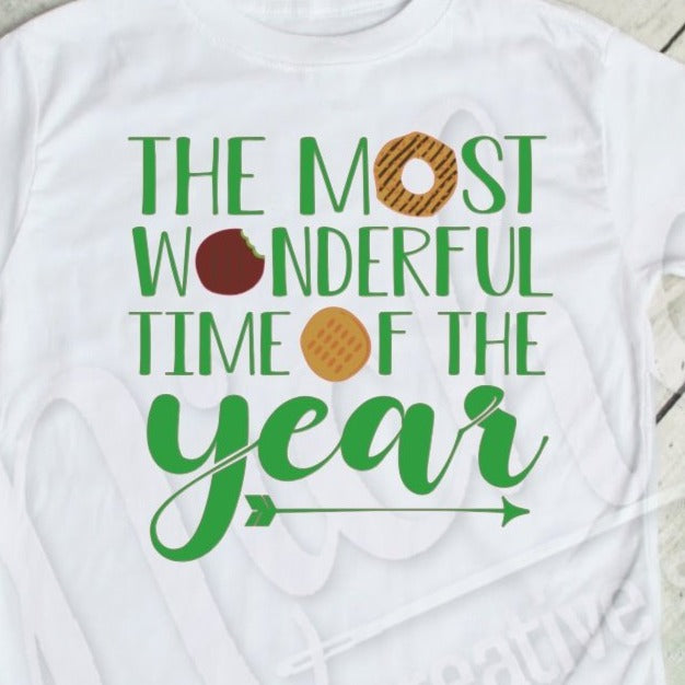 * Most Wonderful Time Decal