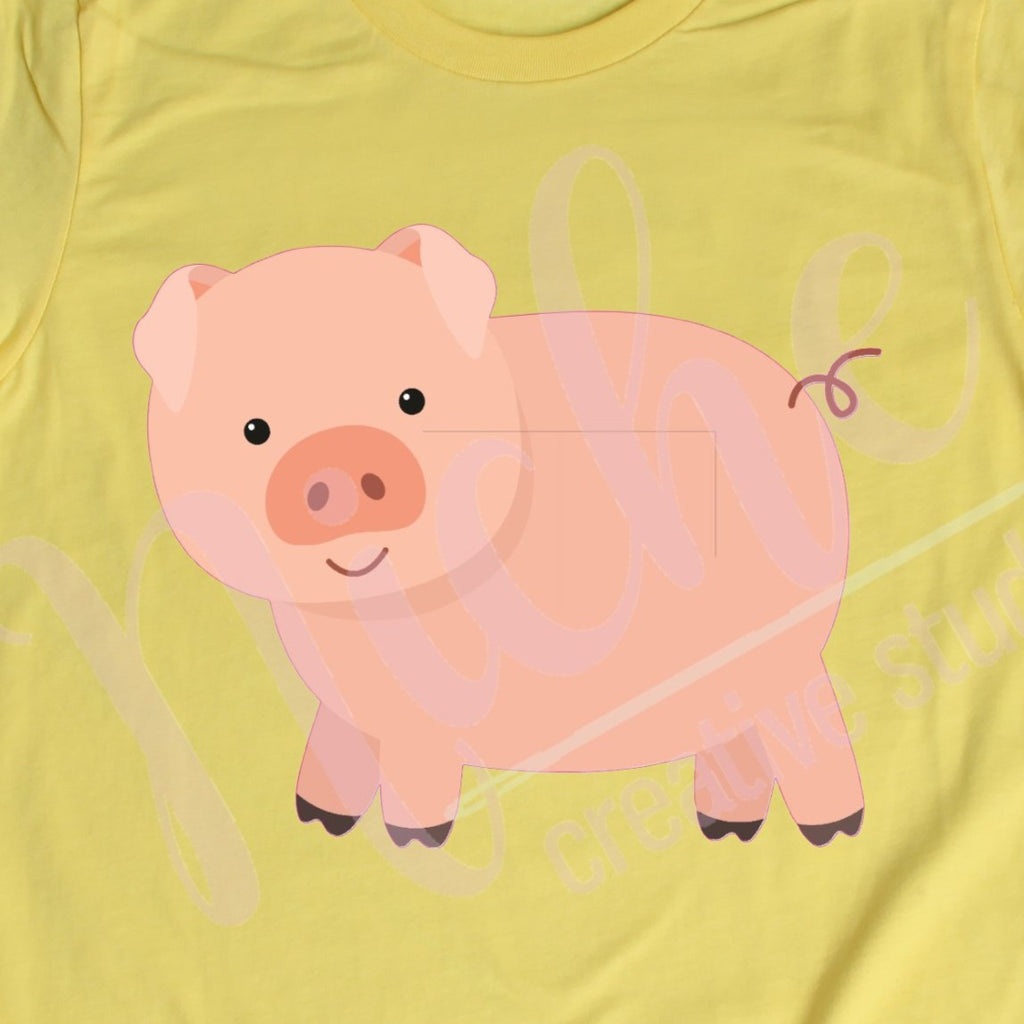 * Pig Decal