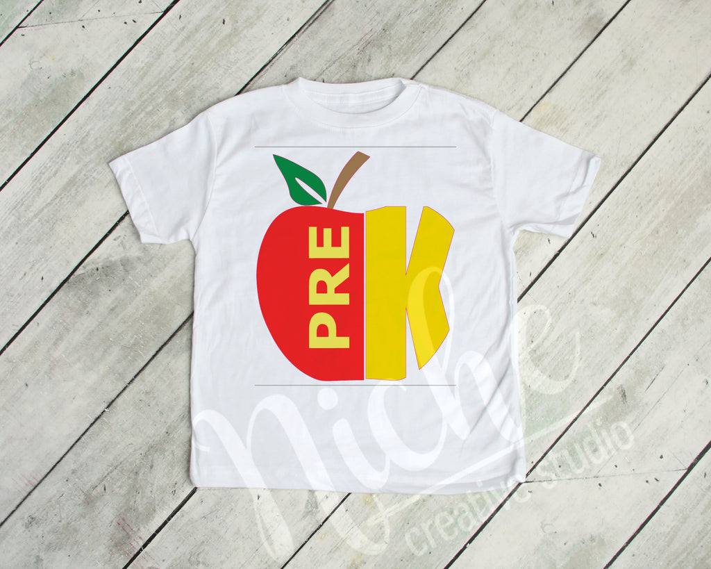 *PreK Apple Decal
