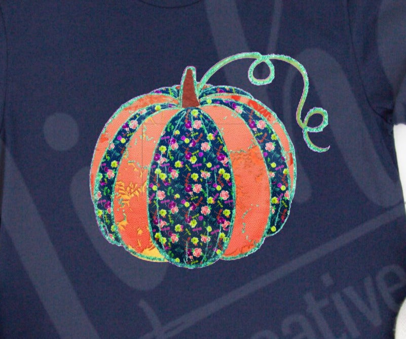 *Quilted Pumpkin Decal