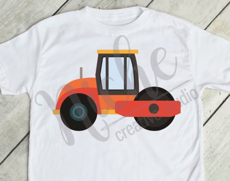 * Roller Tractor Decal