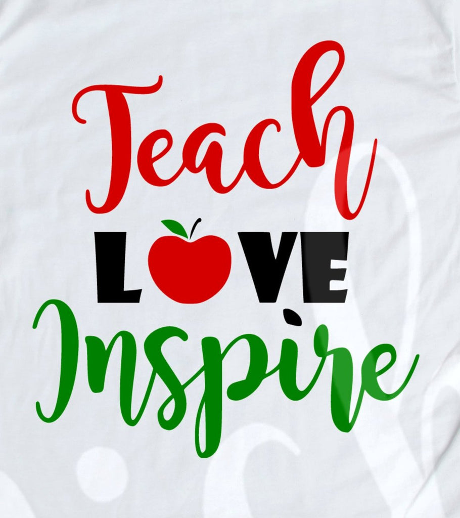 *Teach Love Inspire Decal