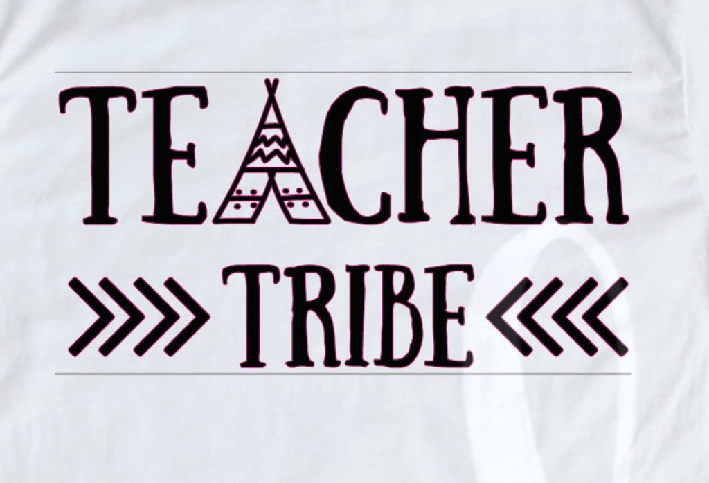 *Teacher Tribe Decal