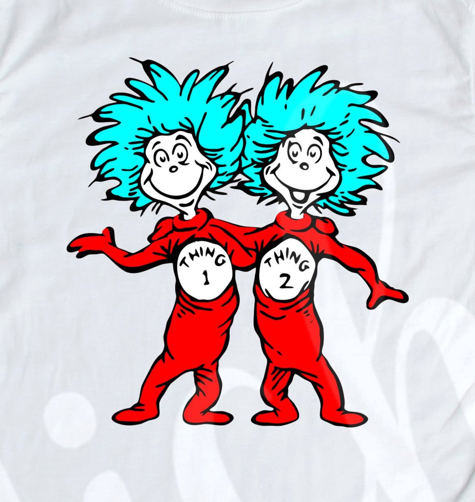 *Thing 1 & Thing 2 Decal