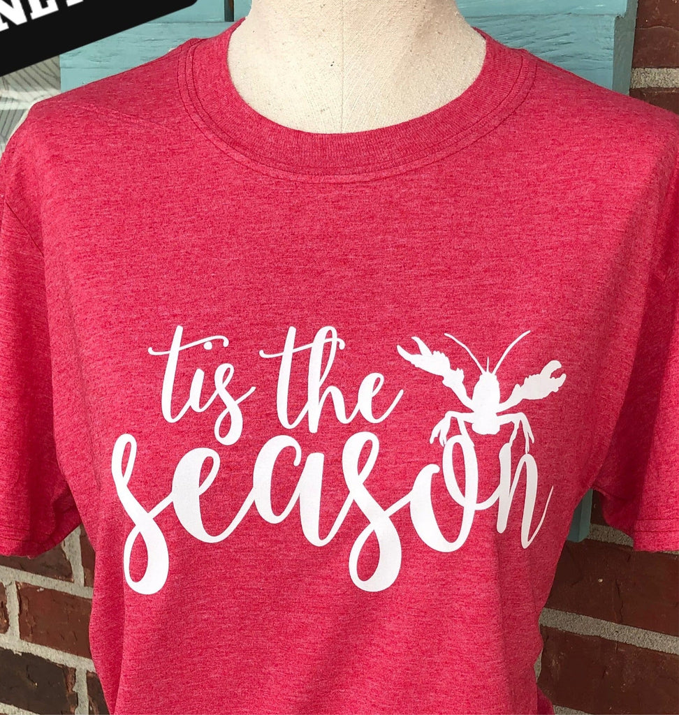 *Tis the Season Crawfish Screen Decal