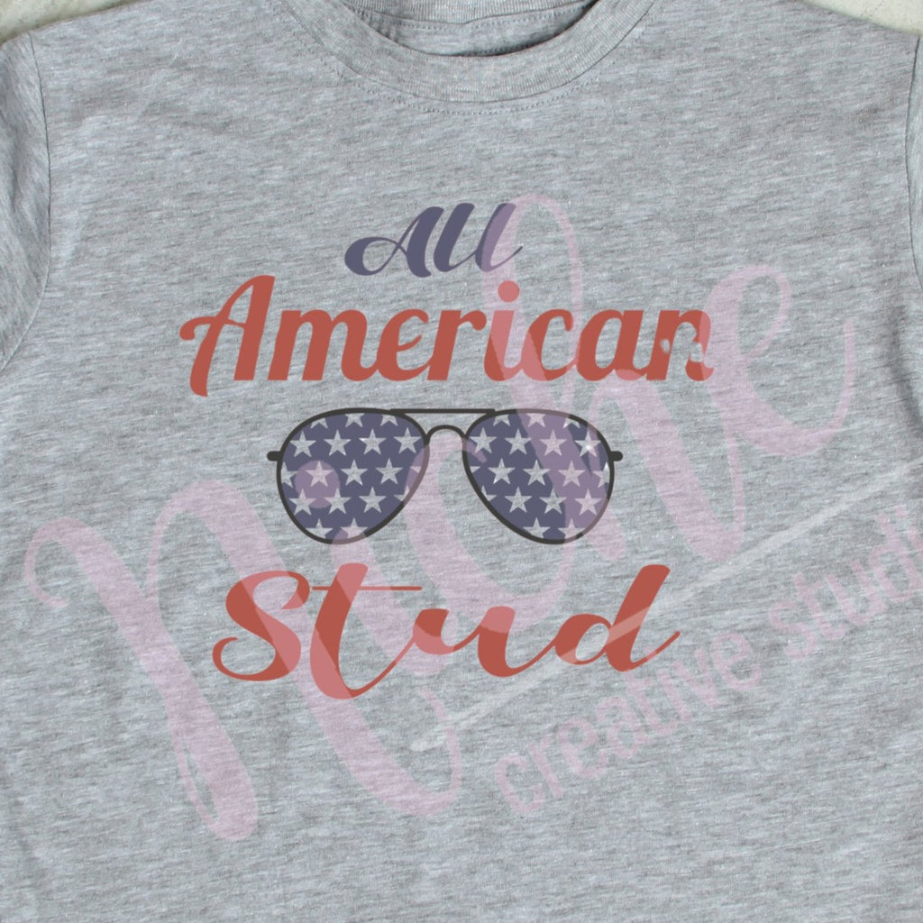 *All American Stud Decal