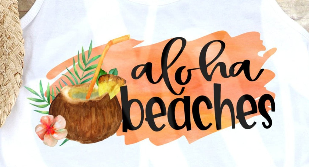 * Aloha Beaches Decal
