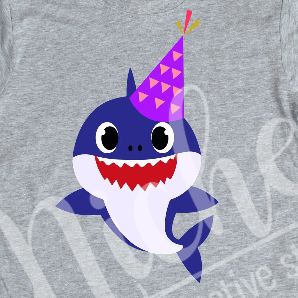 *BDay Daddy Shark Decal