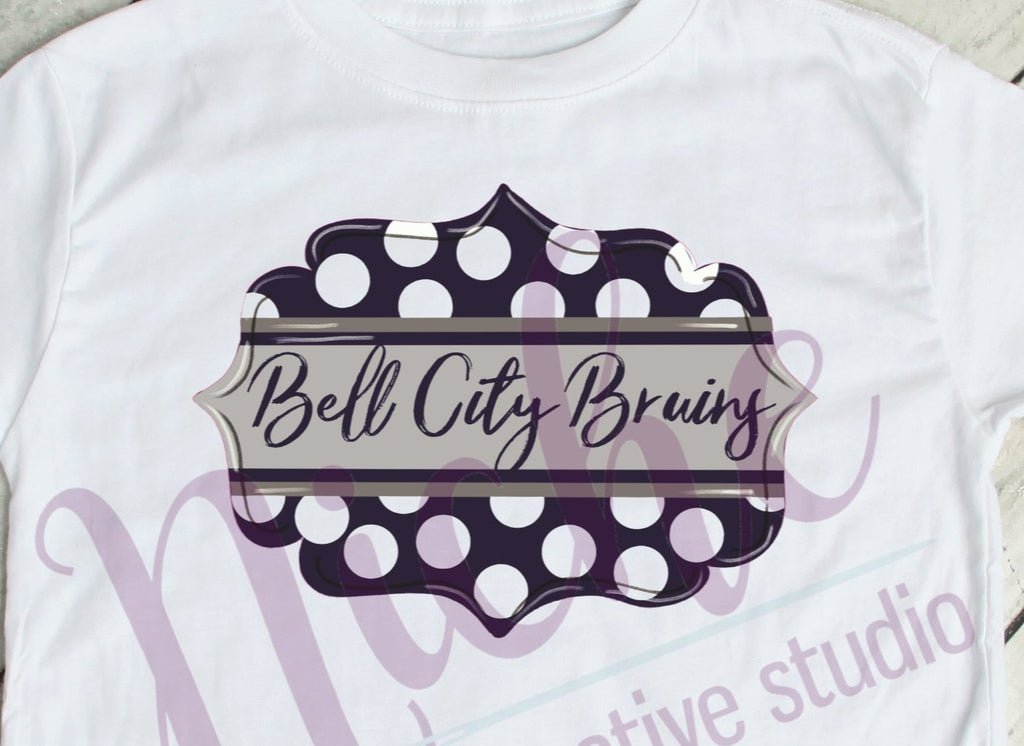 * Bell City Emblem Decal