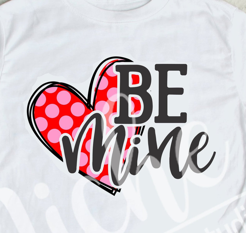 *Be Mine Polka Dot Decal