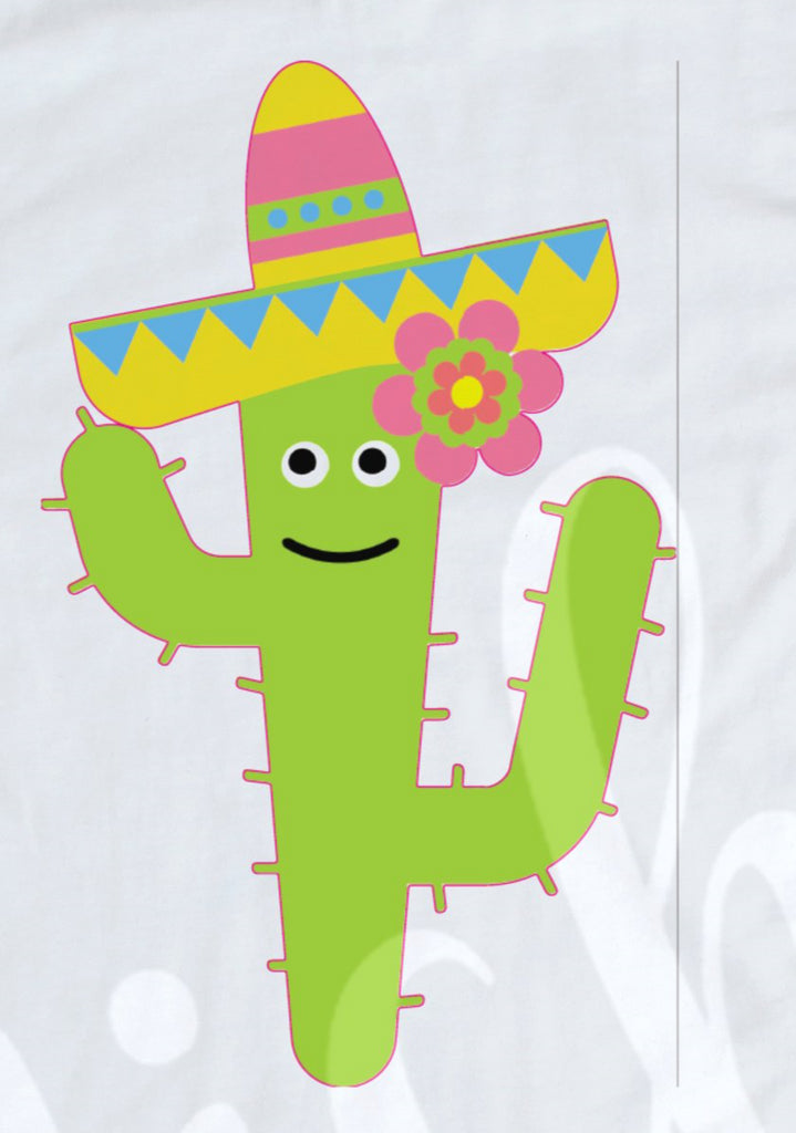 *Cactus Girl Decal