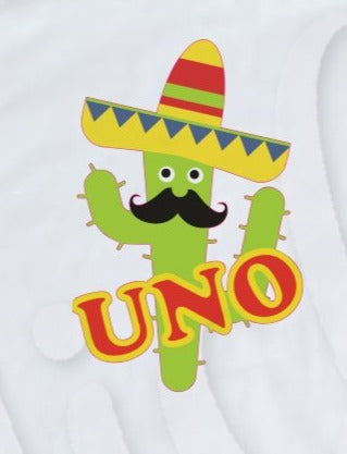 * Cinco One Birthday Decal