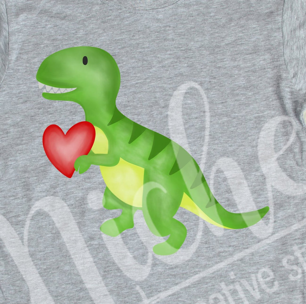 *Dino Valentine Decal