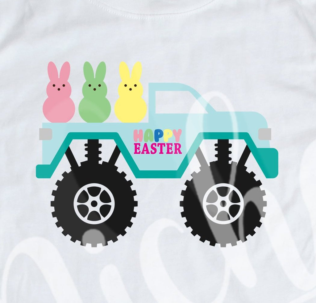 *Easter Monster Truck Decal