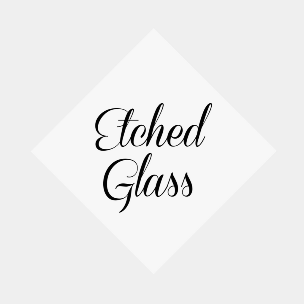"Etched Glass Adhesive Vinyl 12""x12"" Sheets"