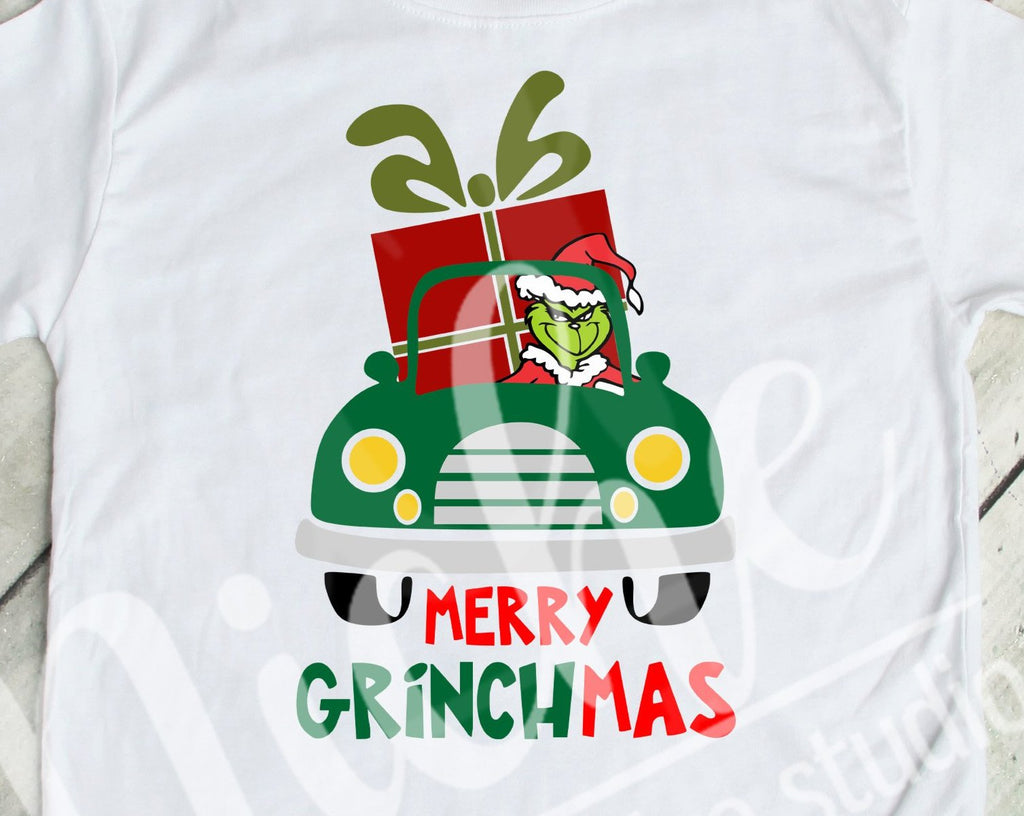 *$Grinch Car Decal