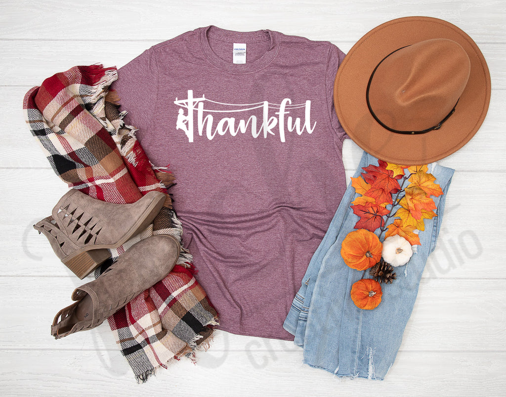 **November Monthly Shirt - Thankful