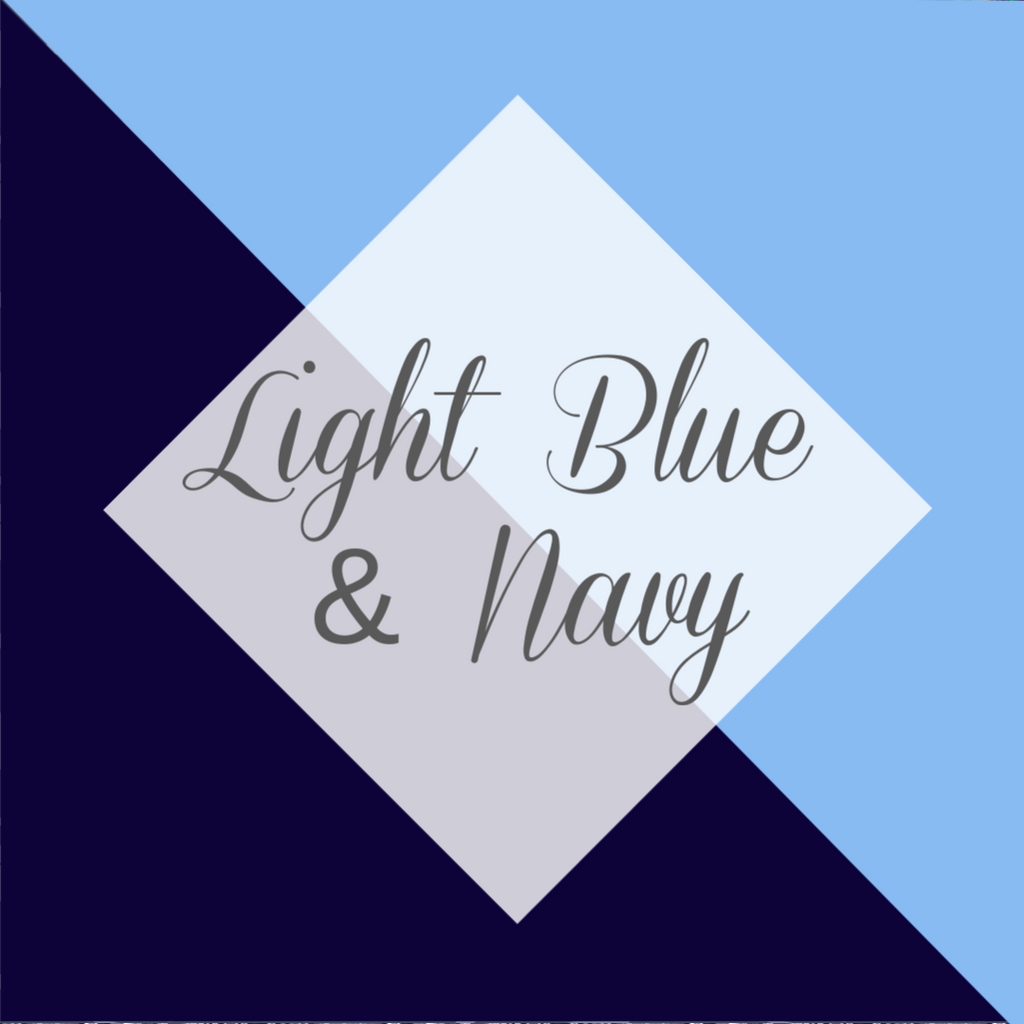 *Light Blue & Navy Collection (LBN)