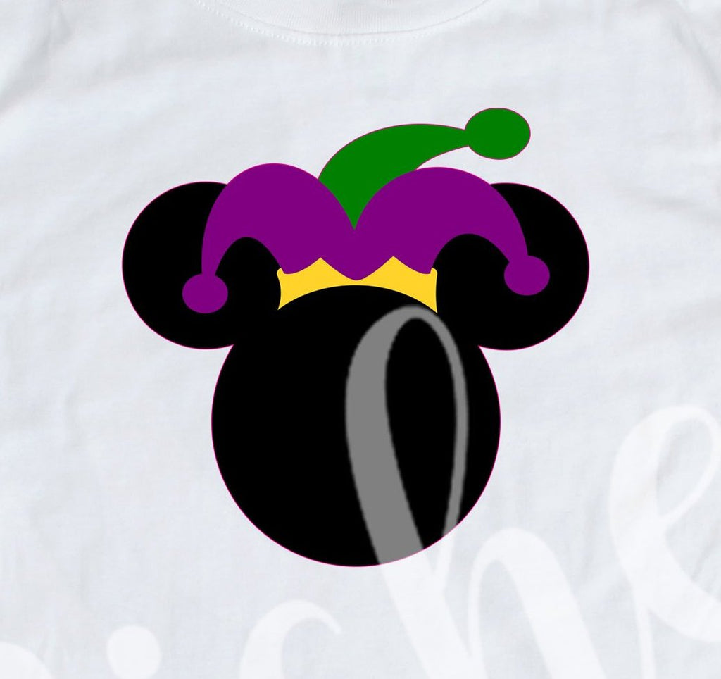 *Mouse Jester Hat Decal
