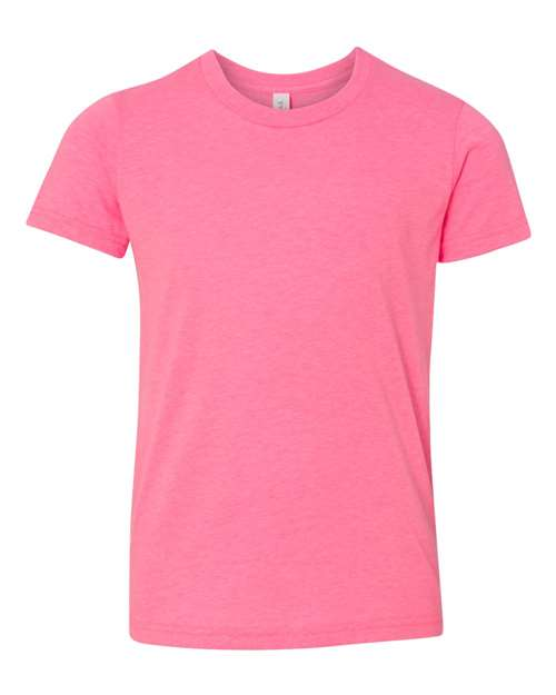 Bella Youth T-shirt - NEON PINK