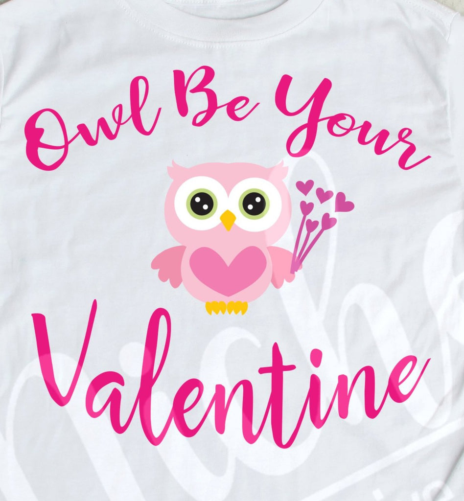 *Owl Be Your Valentine Decal