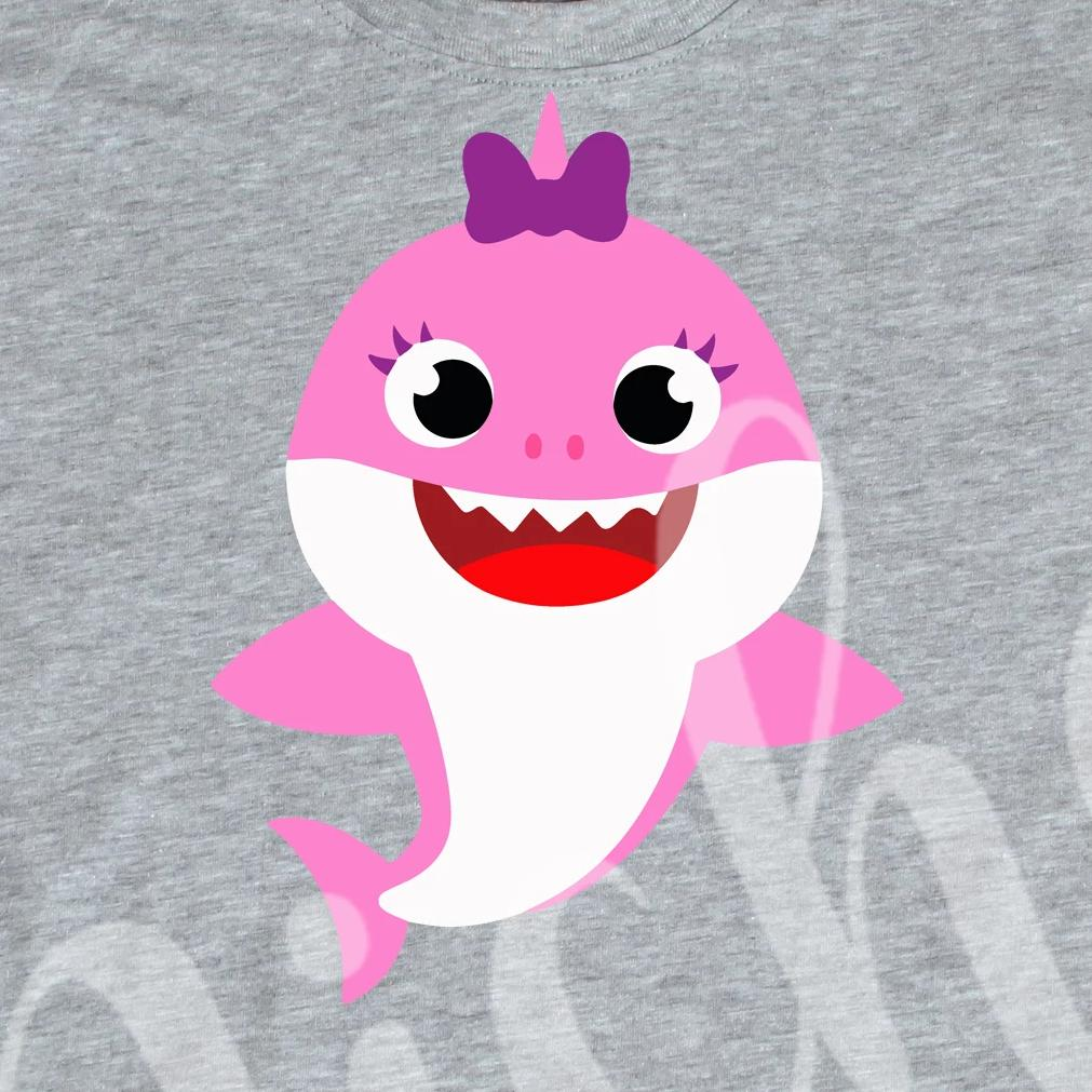 *Pink Baby Shark Decal