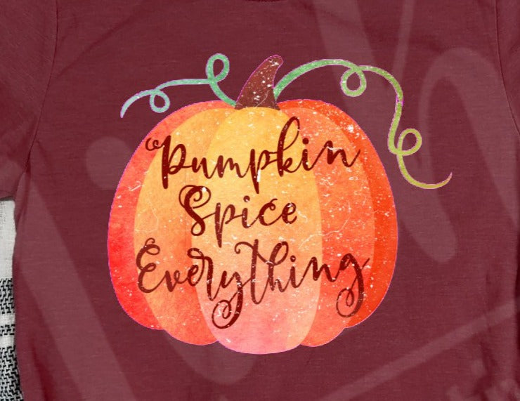 * Pumpkin Spice Everything Decal