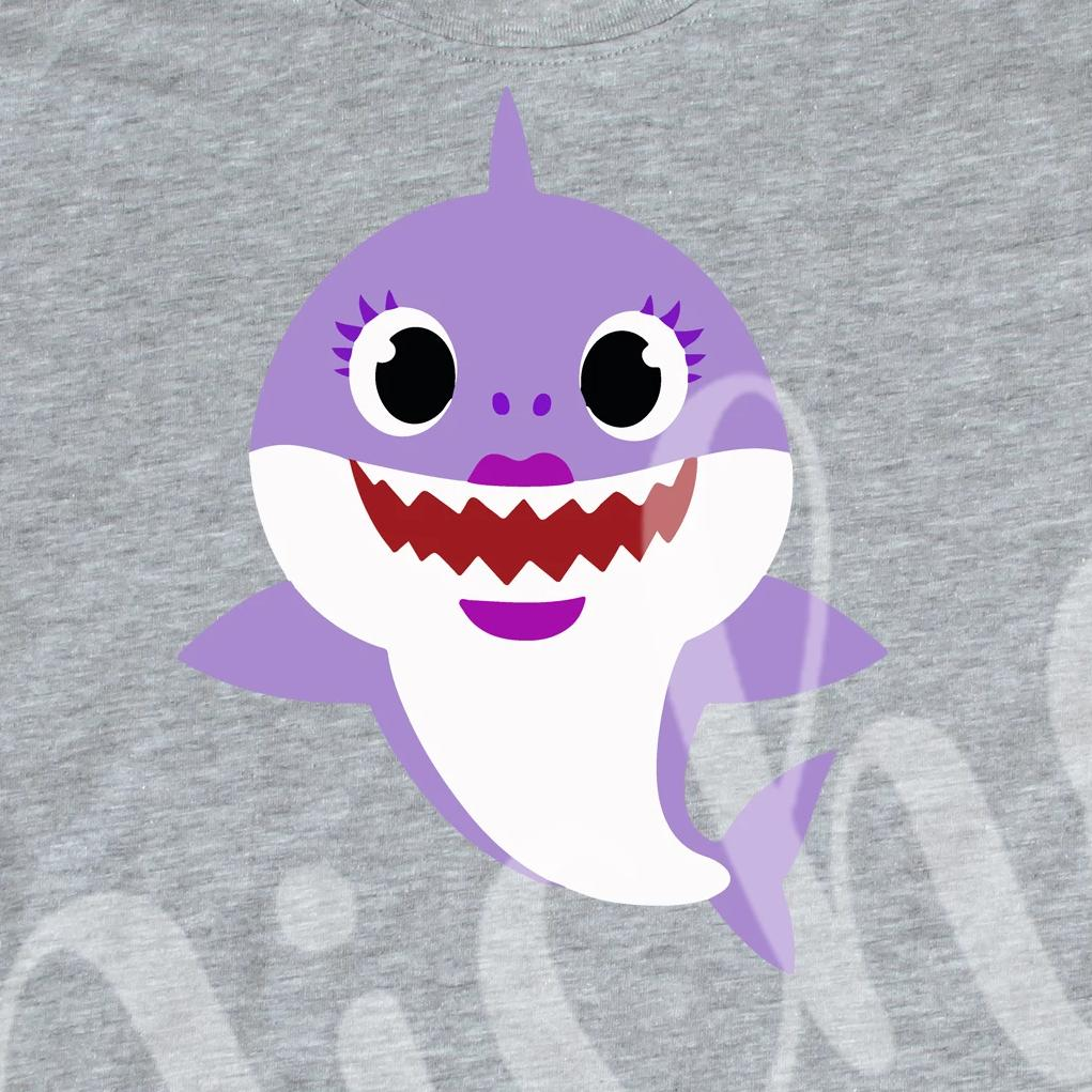 *Purple Shark Decal