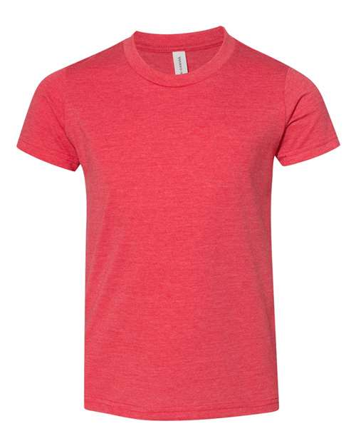 Bella Youth T-shirt - HEATHER RED