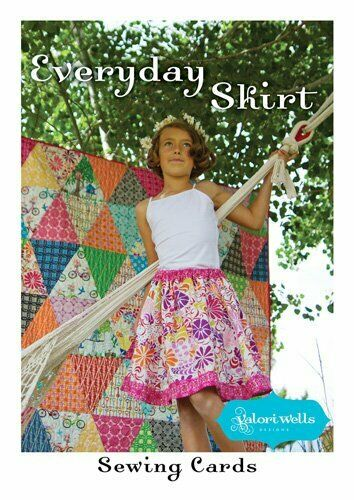Pattern - Skirt Sewing Card