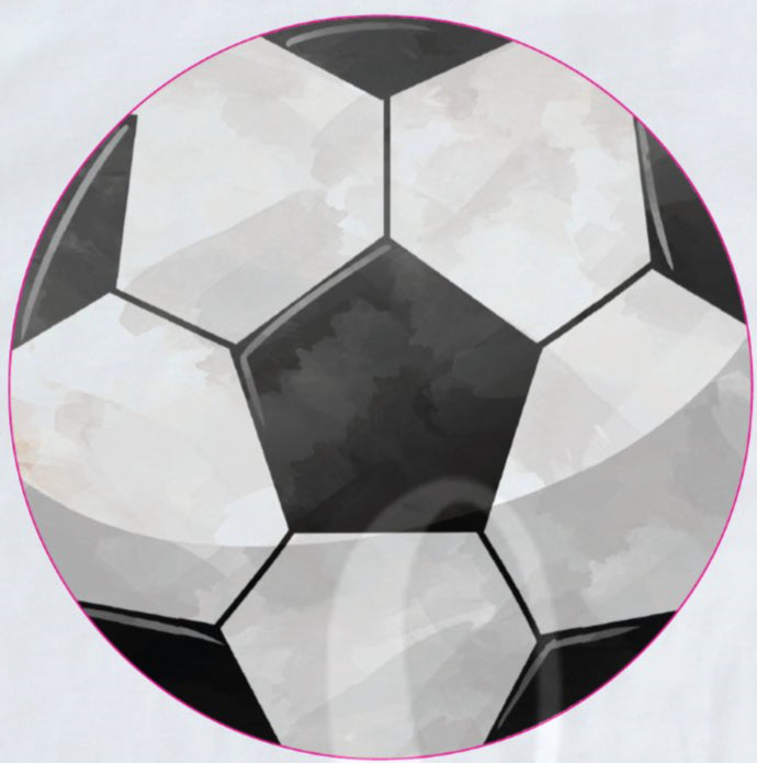 *Soccer Ball Watercolor Decal