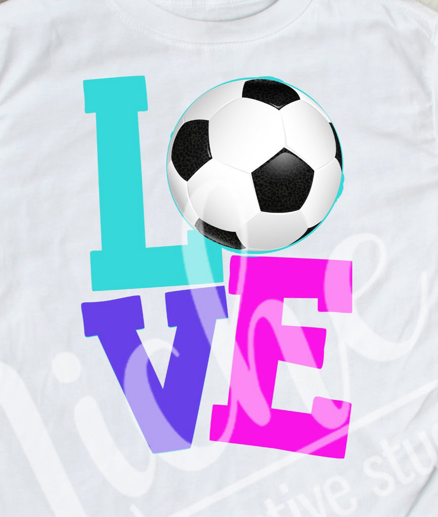 *Soccer Love Decal