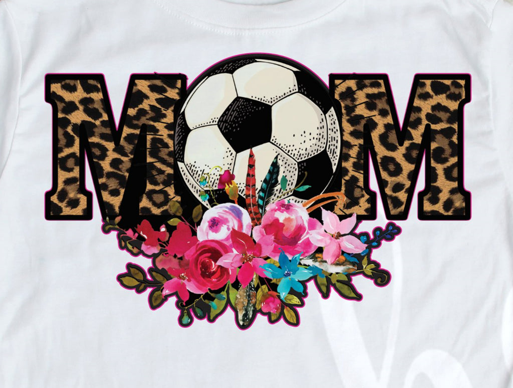 *Soccer Mom Black Outline Decal