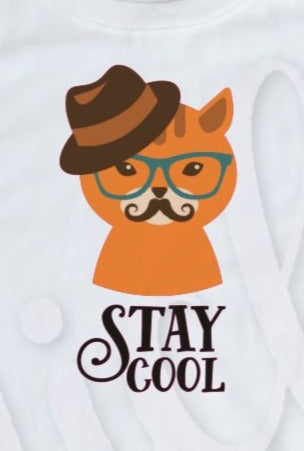 * Stay Cool Cat Decal