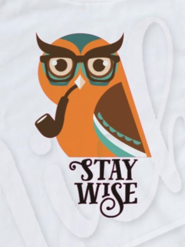 * Stay Wise Owl Decal