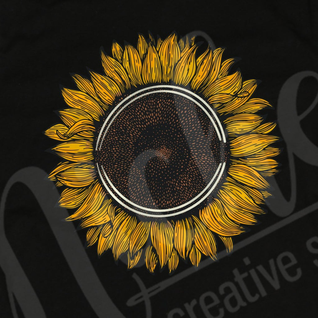 * Sunflower Decal