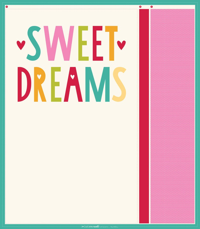 Fabric - Sweet Dreams Pillowcase