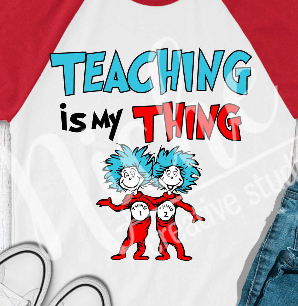 * Teaching Thing Decal