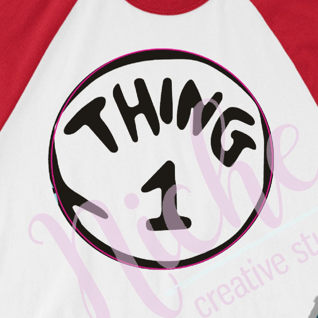 * Thing 1 decal