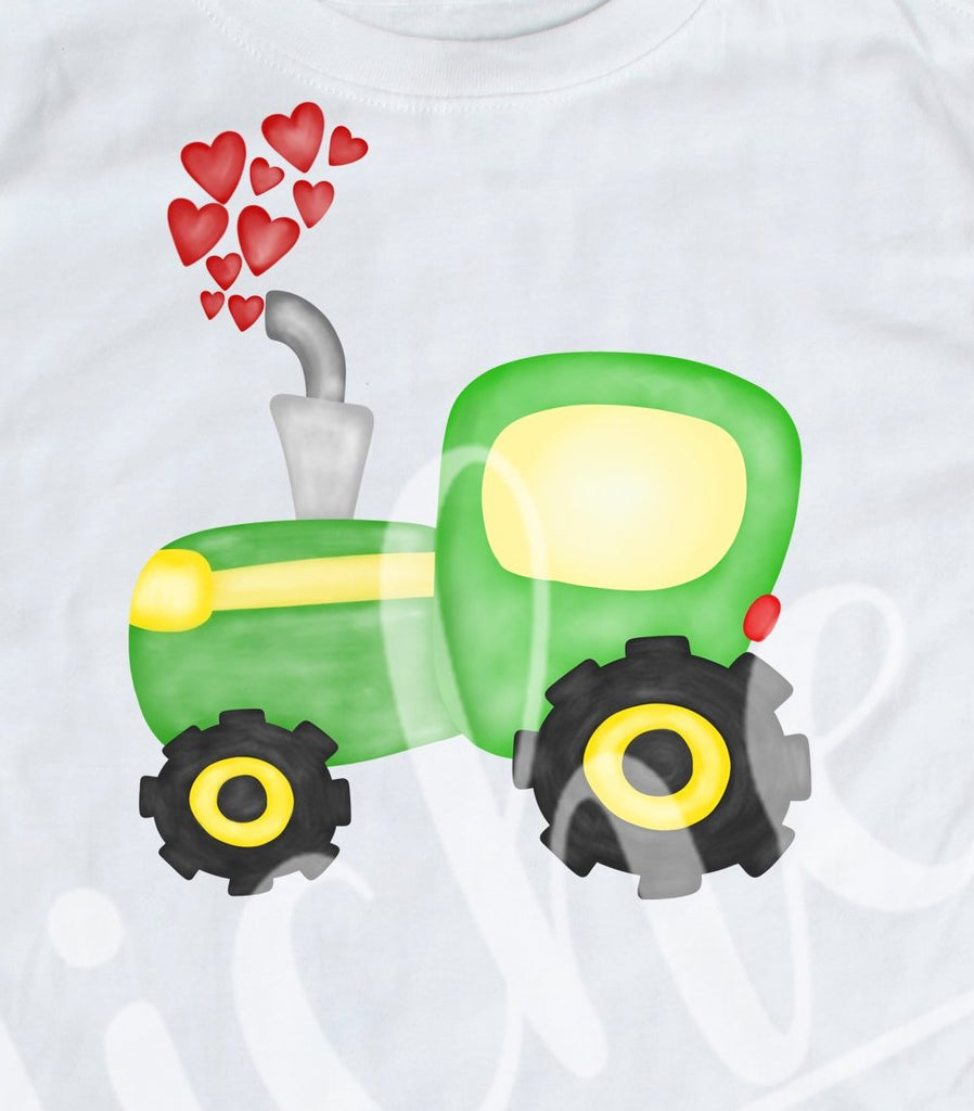 *Tractor Valentine Decal