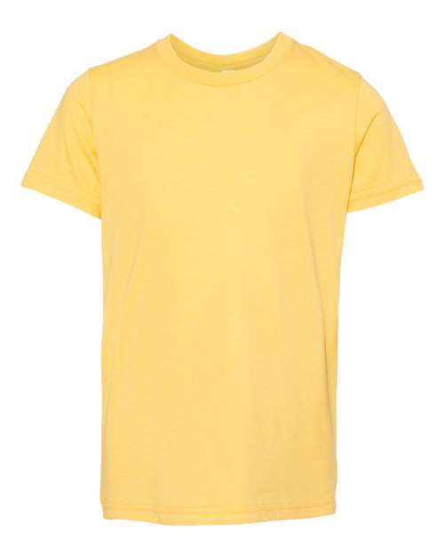 Bella Youth T-shirt - HEATHER YELLOW GOLD
