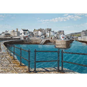 Castletown Harbour Greetings Card